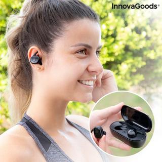 Trådløse høretelefoner med magnetisk oplader eBeats InnovaGoods