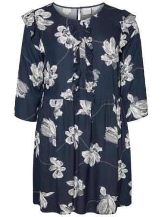 JUNAROSE Printed Dress Women Blue