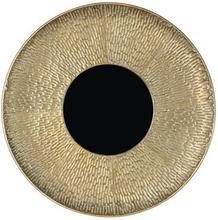 Meja spegel 49 cm - Antik mässing