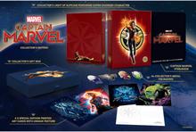 Captain Marvel 4K Ultra HD Zavvi Exklusives Steelbook Sammler Edition (Inkl. 2D Blu-ray)