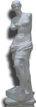 Steve Art Gallery Venus i vit, 115x40x38 cm i vit