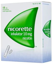 Nicorette Inhalator 10MG (18 stk)