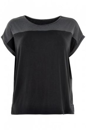 Carola t-shirt (Färg: Svart, Storlek: 3XL)