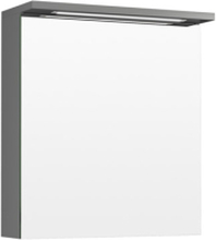 Temal Spegelskåp med en dörr Highlight-Grafitgrå-55-Höger-Vänster