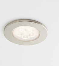 Loveschall ID downlight, 2,3W LED, stål