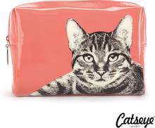 Catseye London Etching Cat Large Beauty Bag