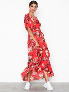 Y.A.S Yasjungle S/S Maxi Dress - Da Maxiklänningar