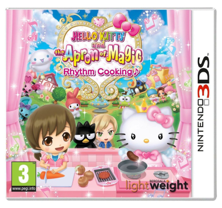 Hello Kitty and the Apron of Magic: Rhythm Cooking /Nintendo 3DS