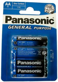 Panasonic R6 4xAA Batterier