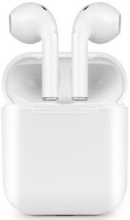 i9S TWS Trådlösa In-Ear Hörlurar med laddbox & silikonskydd
