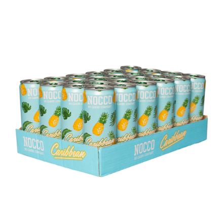 24 x Nocco Bcaa, 330 ml, Fersken