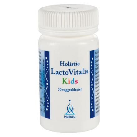 LactoVitalis Kids, 30 tyggetabletter