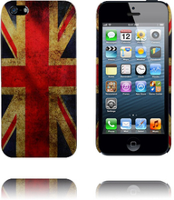 Classic Patriot (UK Flag) iPhone 5 Deksel