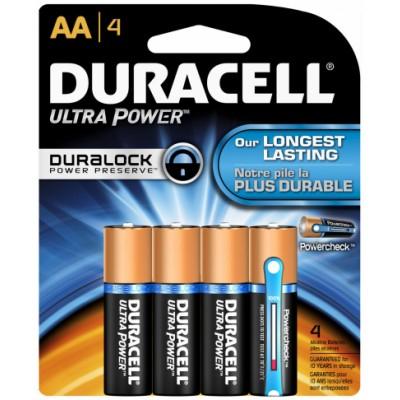 Duracell AA Duralock Ultra Power 4 stk