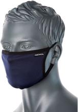 Munskydd 3-lagers (tvättbart) - marinblå