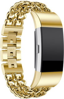 Fitbit Charge 2 rostfritt stål klockarmband - Guld