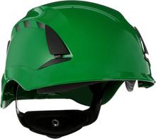 3M SecureFit X5504V Skyddshjälm ventilerad Grön