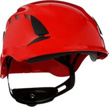 3M SecureFit X5505V Skyddshjälm ventilerad Röd