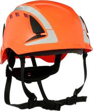 3M SecureFit X5007V Skyddshjälm dubbla godkännande, ventilerad, reflex Orange
