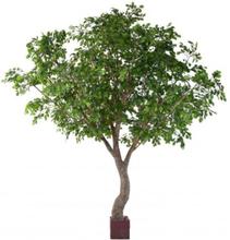Stort kunstigt egetræ H420 cm