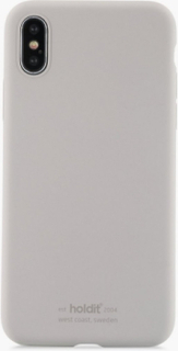 Holdit Silicone Case iPhone X/Xs Mobiltillbehör Taupe