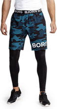 Björn Borg August Shorts, BB maxi camo blue, xlarge Shorts herr