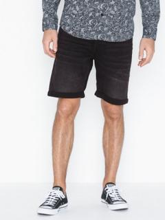 Only & Sons onsPLY Sw Black Shorts Pk 2021 Noos Shorts Svart