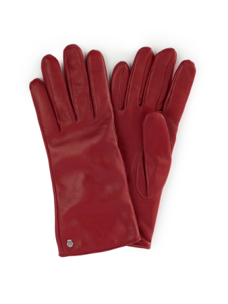 Handskar för kvinnor från Roeckl röd