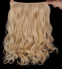 Mizzy löshår lockigt 5 Clip on - Ljusblond & Blond #F22/613
