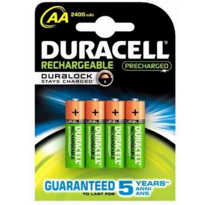 Duracell AA Recharge Ultra (wiederaufladbar) 4 stk