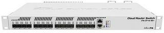 Kontakt til netværket med kontaktskab Mikrotik CRS317-1G-16S+RM 16SFP 800 MHz L6 Hvid