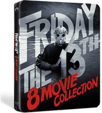 Friday The 13th 8-Movie Collection - Steelbook