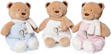 Babybjörn, mjukisdjur med skallra, Artesavi, 15 cm (Färg: Vit)