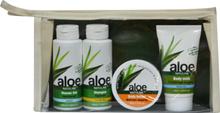 Necessär Aloe Vera (shower gel, body milk, shampo, body butter)