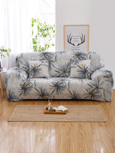 1Pcs Blumenmuster Elastischer Sofabezug 1/2/3/4 Sitze L-förmiger Schnittbezug Couchbezug Wohnzimmermöbelschutz