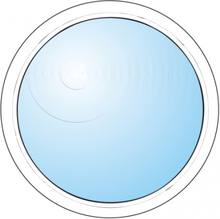 Dekorfönster Rund Modul 3