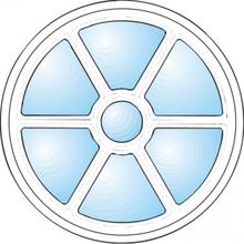 Dekorfönster Sol Modul 8
