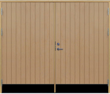 Slagport 18 graders tät stående spårning