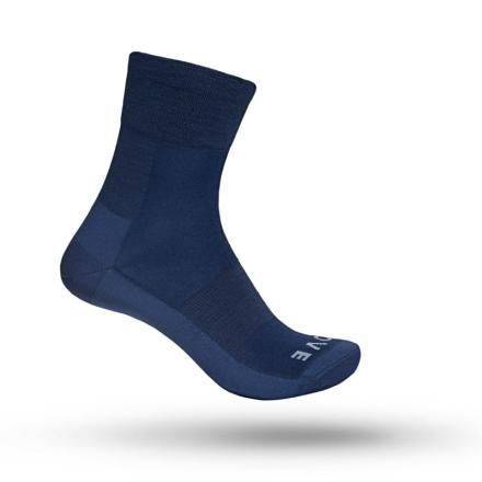 GripGrab Merino Lightweight SL Sock Unisex Träningsstrumpor Blå 41-44