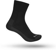 GripGrab Merino Lightweight SL Sock Unisex Träningsstrumpor Svart 35-38