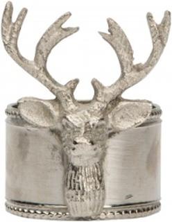 Servettring Lappland 5x6 cm Silver
