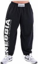 Nebbia Hardcore Fitness Sweatpants, black, M Träningsbyxor herr