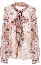 Peony Blouse Beige Floral