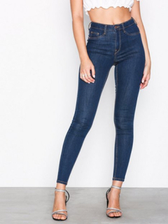 Gina Tricot Molly High Waist Jeans Slim fit Rinse