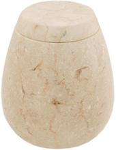 Behållare bomullstops STONO av marmor