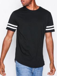 Only & Sons onsMATT Longy Stripe Tee New Exp T-shirts & linnen Svart