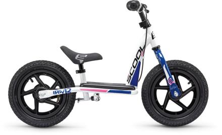 s'cool pedeX easy 12 Løbecykel Børn blå/hvid 2019 Løbecykler