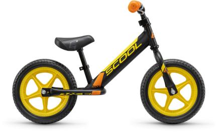 s'cool pedeX race Løbecykel Børn gul/sort 2019 Løbecykler