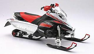 Yamaha FX snöskoter (2008) plast modell motorcykel