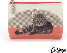 Catseye London Etching Cat Pouch